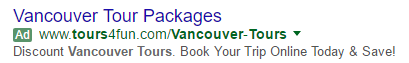 old adwords ad example