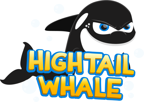 High Tail Whale Logo