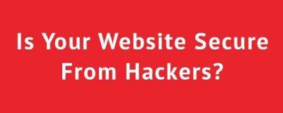 website hacked banner
