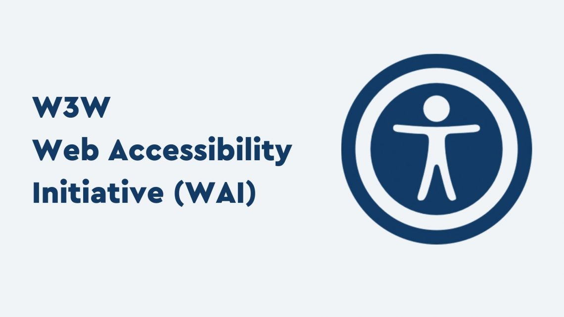 W3W Web Accessibility Initiative (WAI) logo